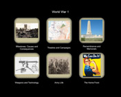 F0001. WWI World War 1 Interactive Display Framework