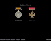 S0002. WW1 British Army Medals and Awards